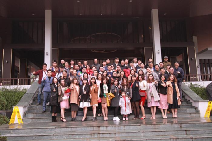 Bữa tiệc tất niên tổ chức tại Xanh Villas Resort