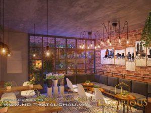 Mẫu thiết kế bàn trà quán cafe
