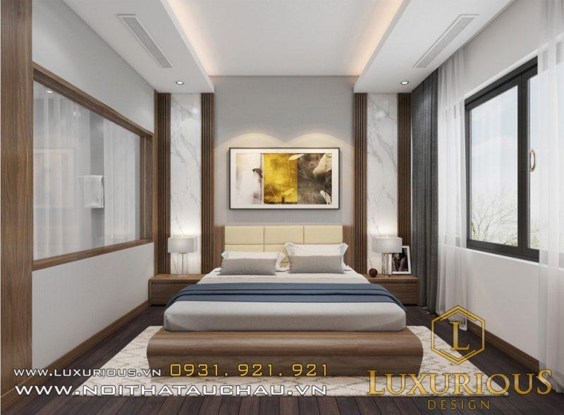 Thiết kế nội thất phòng ngủ tại Yên Bái
