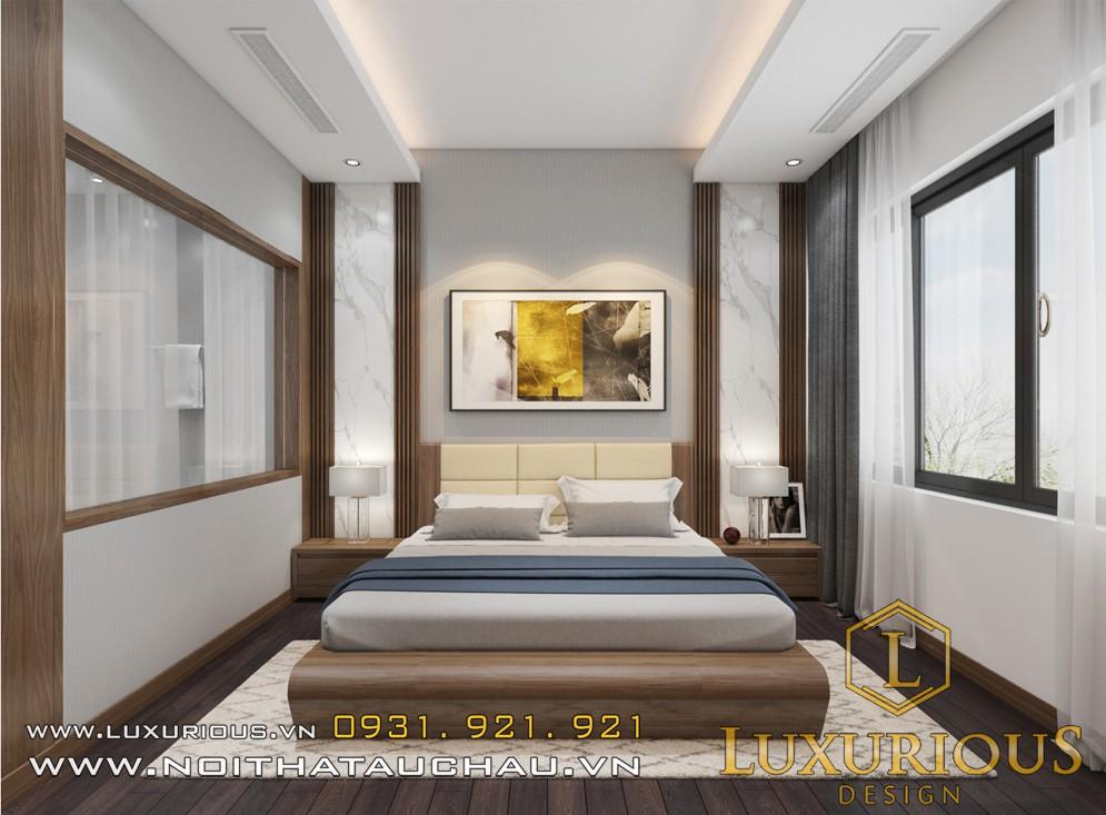 Thiết kế nội thất phòng ngủ metropolis liễu giai