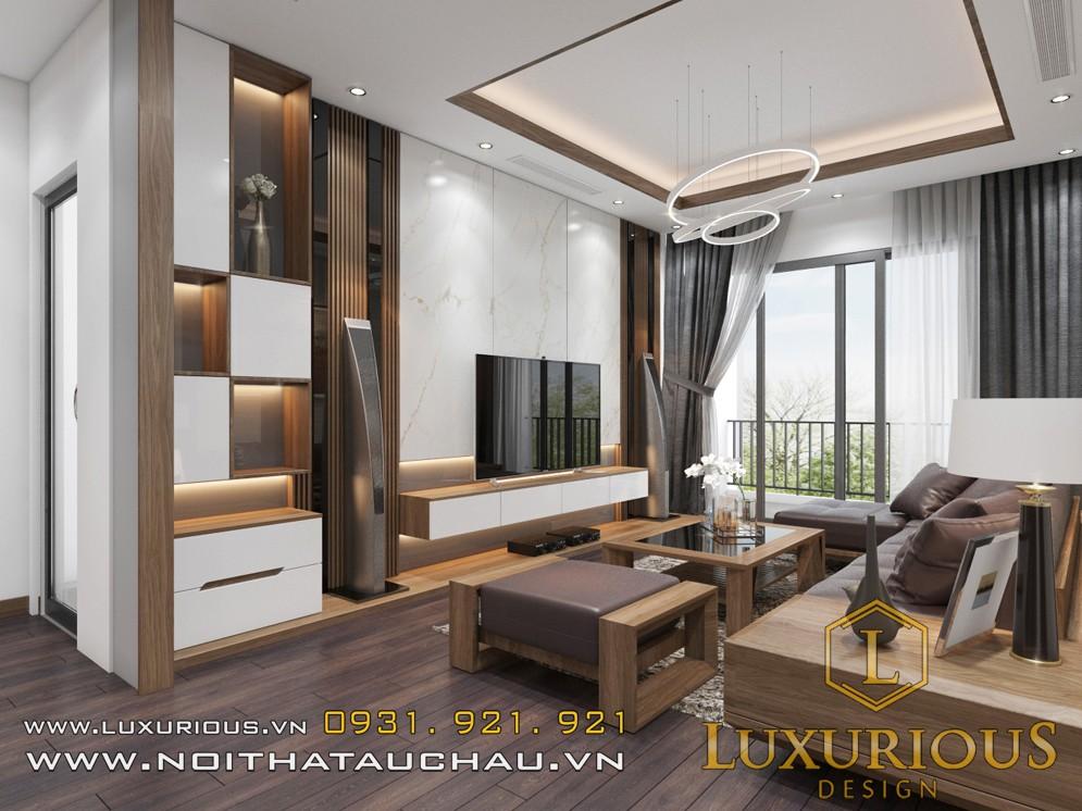 Phòng khách nội thất metropolis