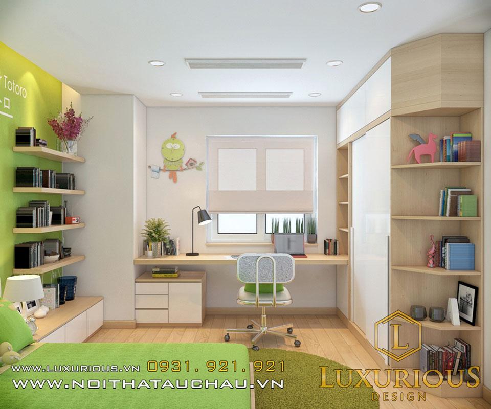 Phòng ngủ chung cư cho con
