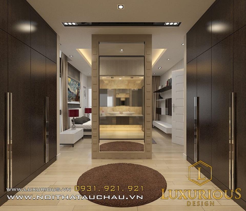 Thiết kế nội thất biệt thự vườn mai ecopark Anh Dinh 3