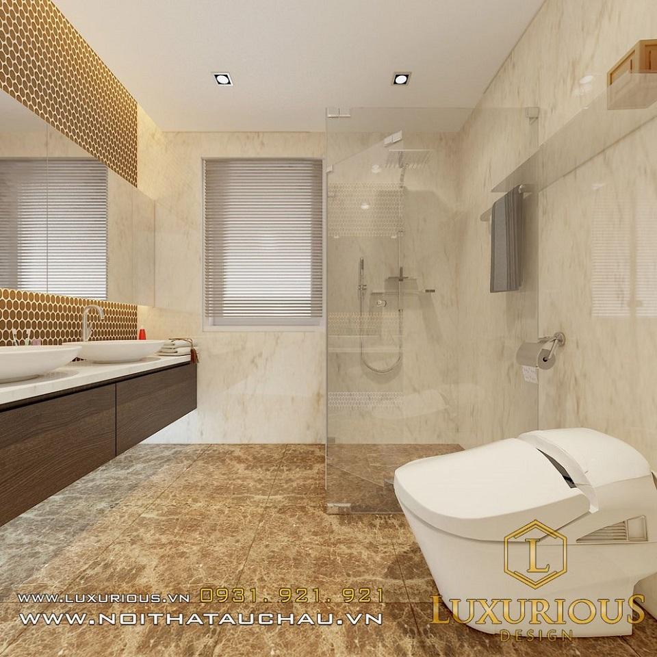 Thiết kế nội thất biệt thự vườn mai ecopark Anh Dinh 14