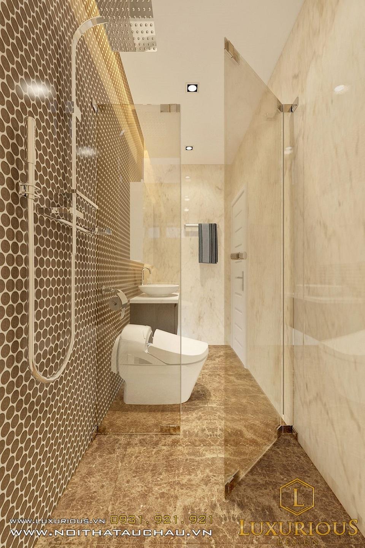 Thiết kế nội thất biệt thự vườn mai ecopark Anh Dinh 15
