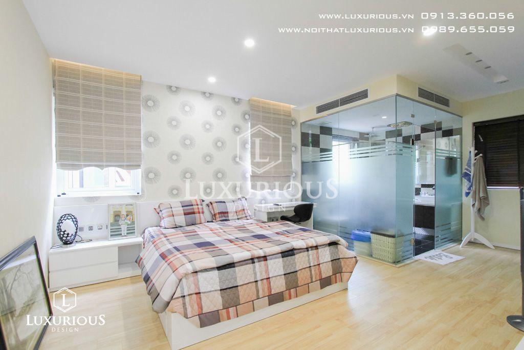 Mẫu thiết kế nội thất phòng ngủ biệt thự Ecopark