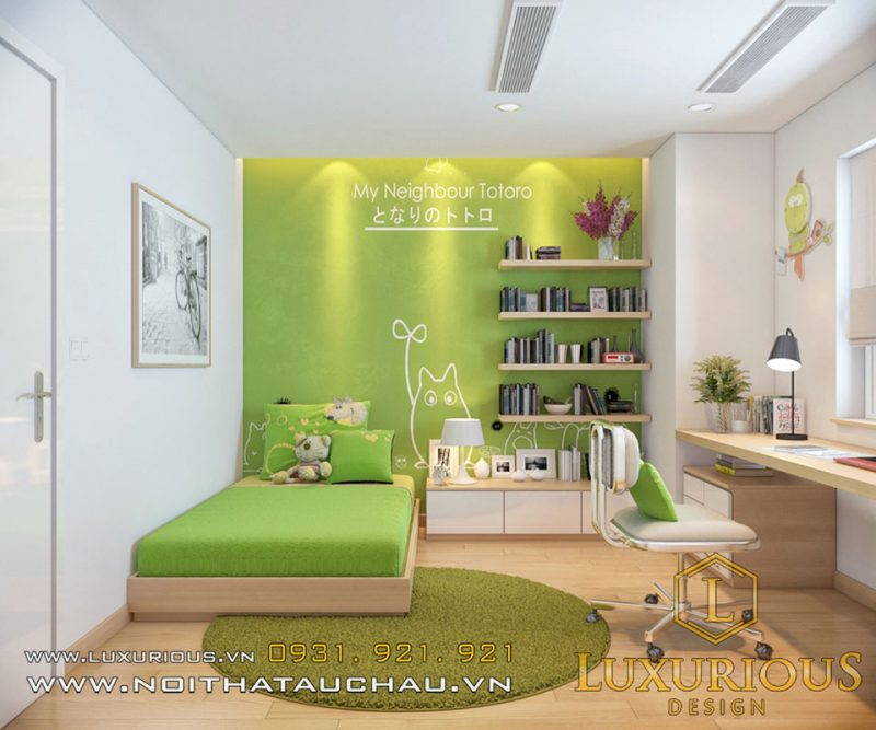 thiết kế nội thất shophouse phòng ngủ