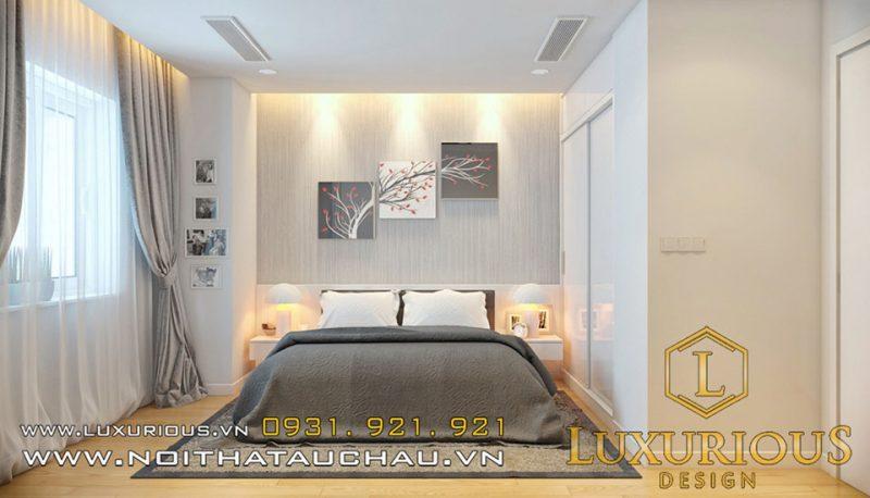 thiết kế phòng ngủ Shophouse
