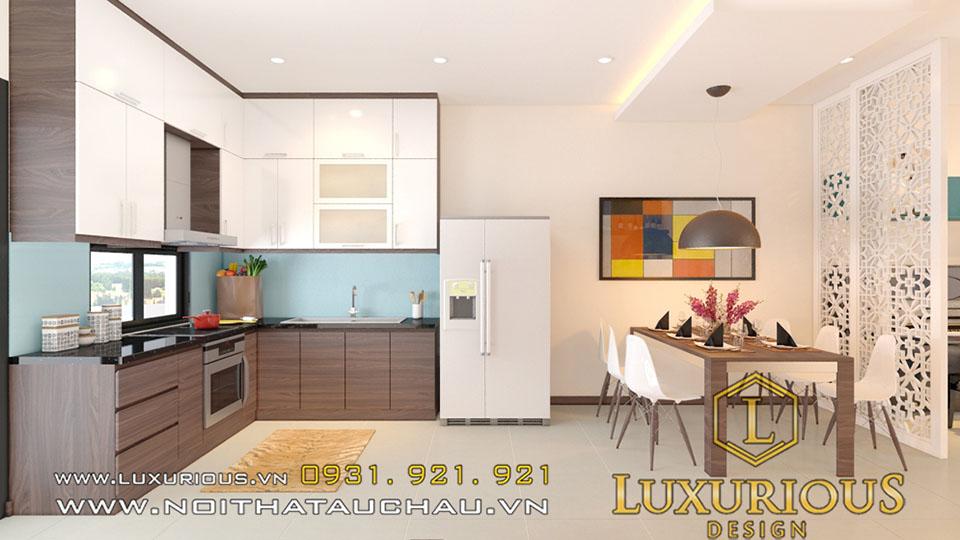 Phòng bếp biệt thự gamuada