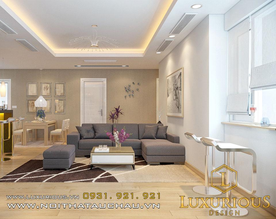 Phòng khách chung cư golden palace