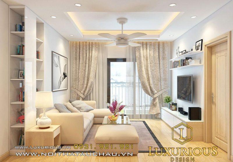 thiết kế nội thất tại Yên Bái - căn hộ chung cư