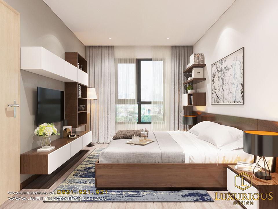 Giường ngủ master chung cư