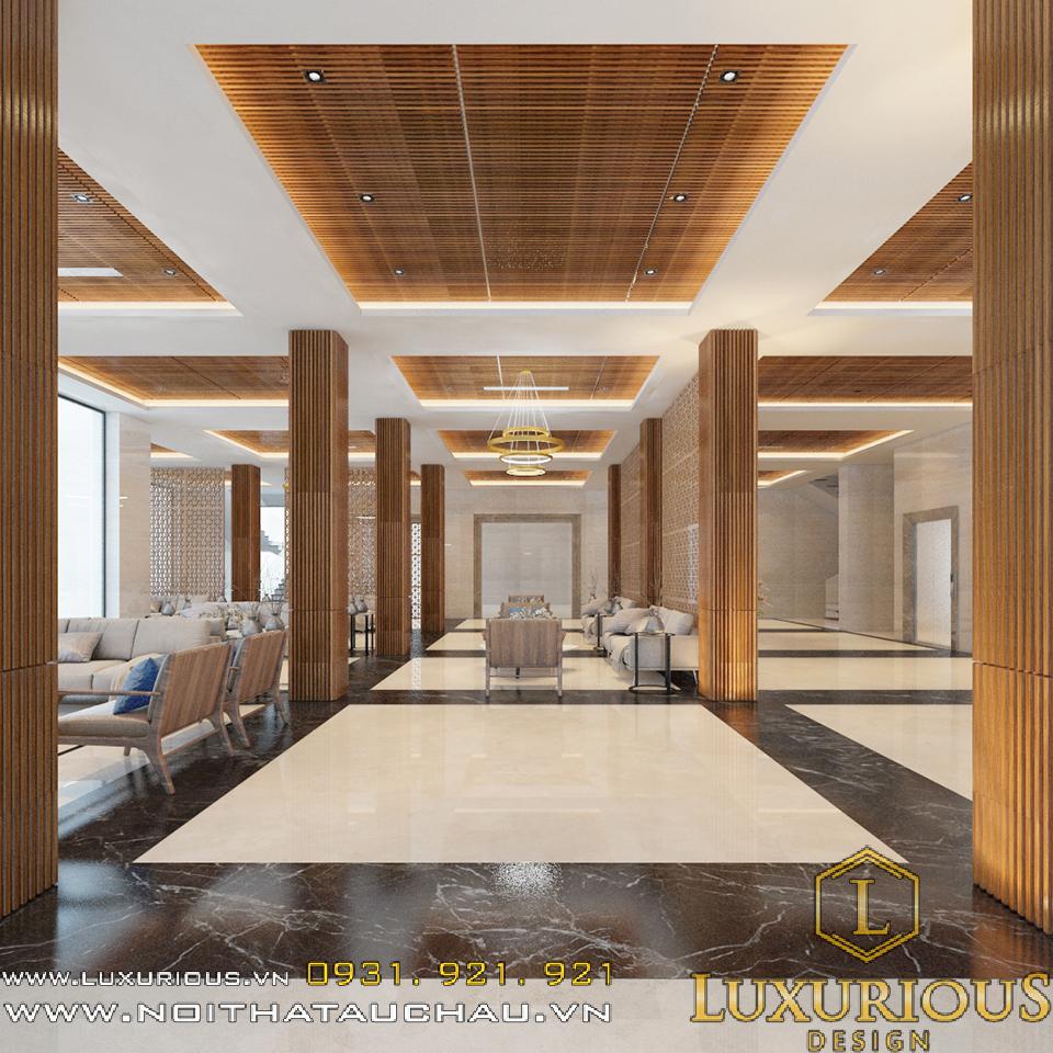 Thiết kế nội thất khách sạn hải dương
