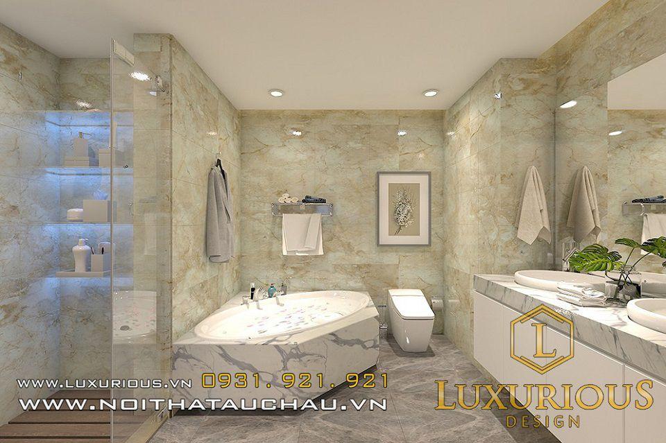 Hình ảnh phòng vệ sinh có bồn tắm đẹp