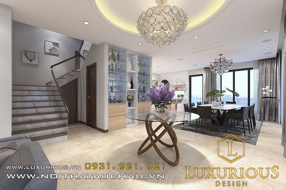 Mẫu thiết kế nội thất biệt thự mimosa Ecopark Chị Hằng 3