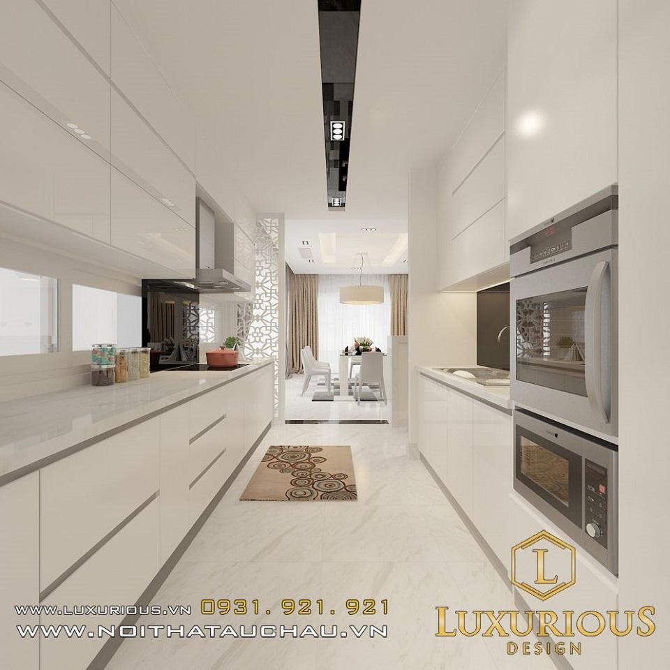 Thiết kế nội thất biệt thự vườn mai ecopark Anh Dinh 8