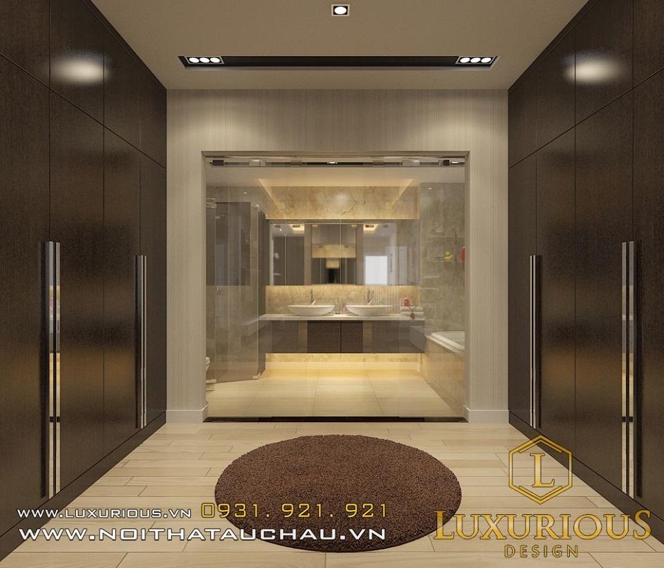 Thiết kế nội thất biệt thự vườn mai ecopark Anh Dinh 4