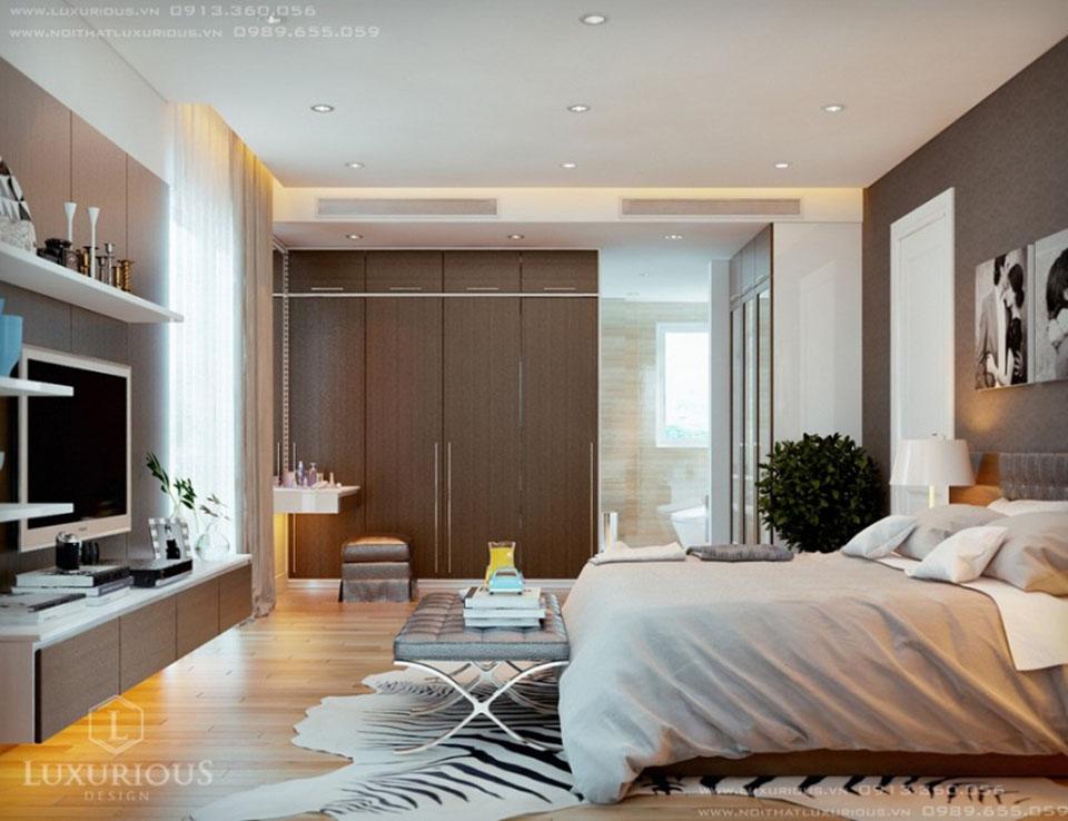 Mẫu phòng ngủ biệt thự đẹp