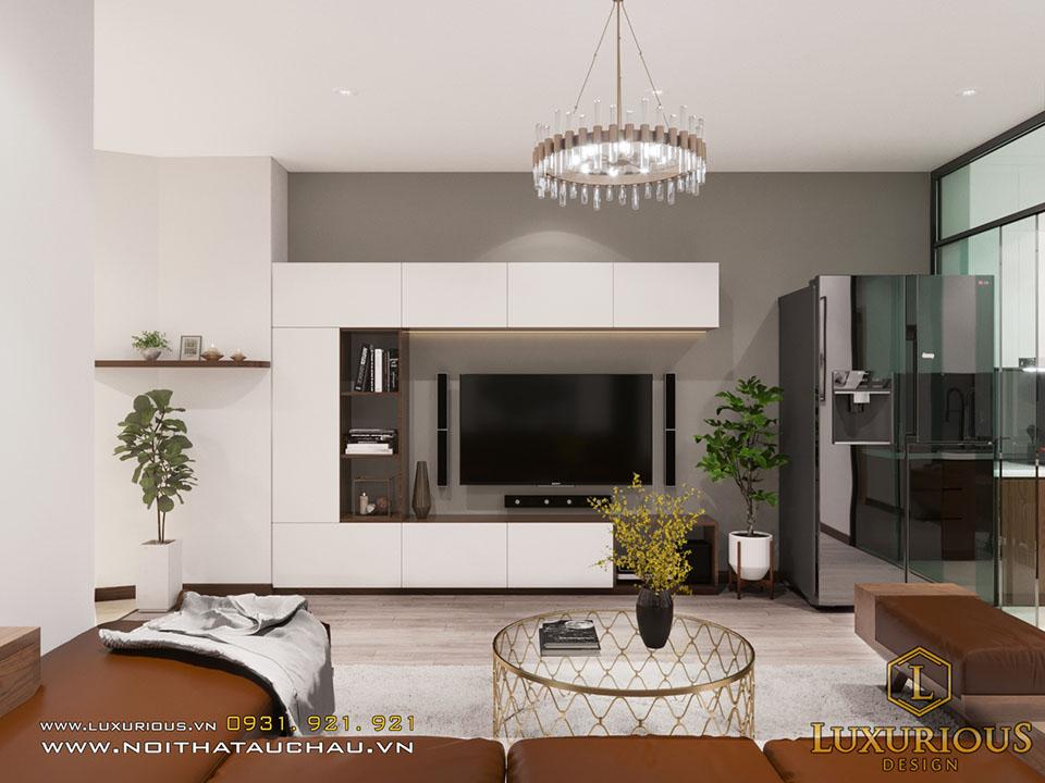 Mẫu thiết kế chung cư 25 lạc trung