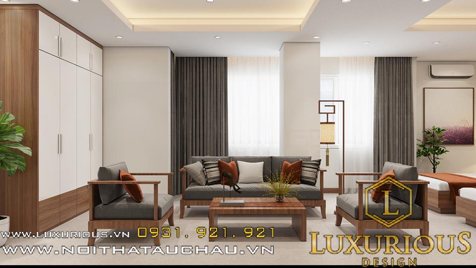 Thiết kế nội thất phòng vip khách sạn redstar hotel