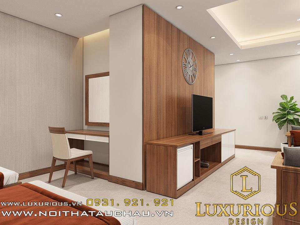 thiết kế thi công nội thất khách sạn redstar hotel