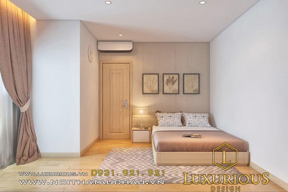 thiết kế nội thất phòng ngủ chung cư Park Hill
