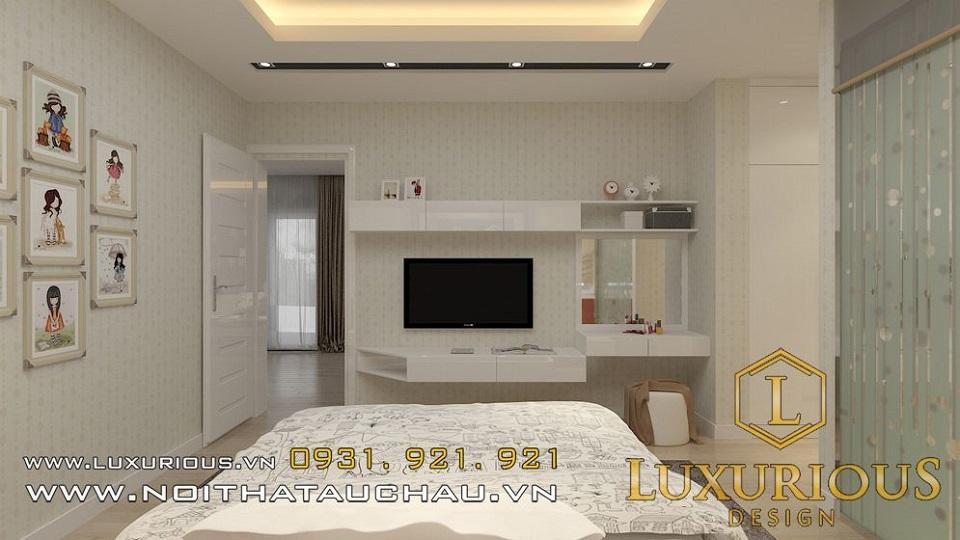Thiết kế nội thất biệt thự vườn mai ecopark Anh Dinh 13