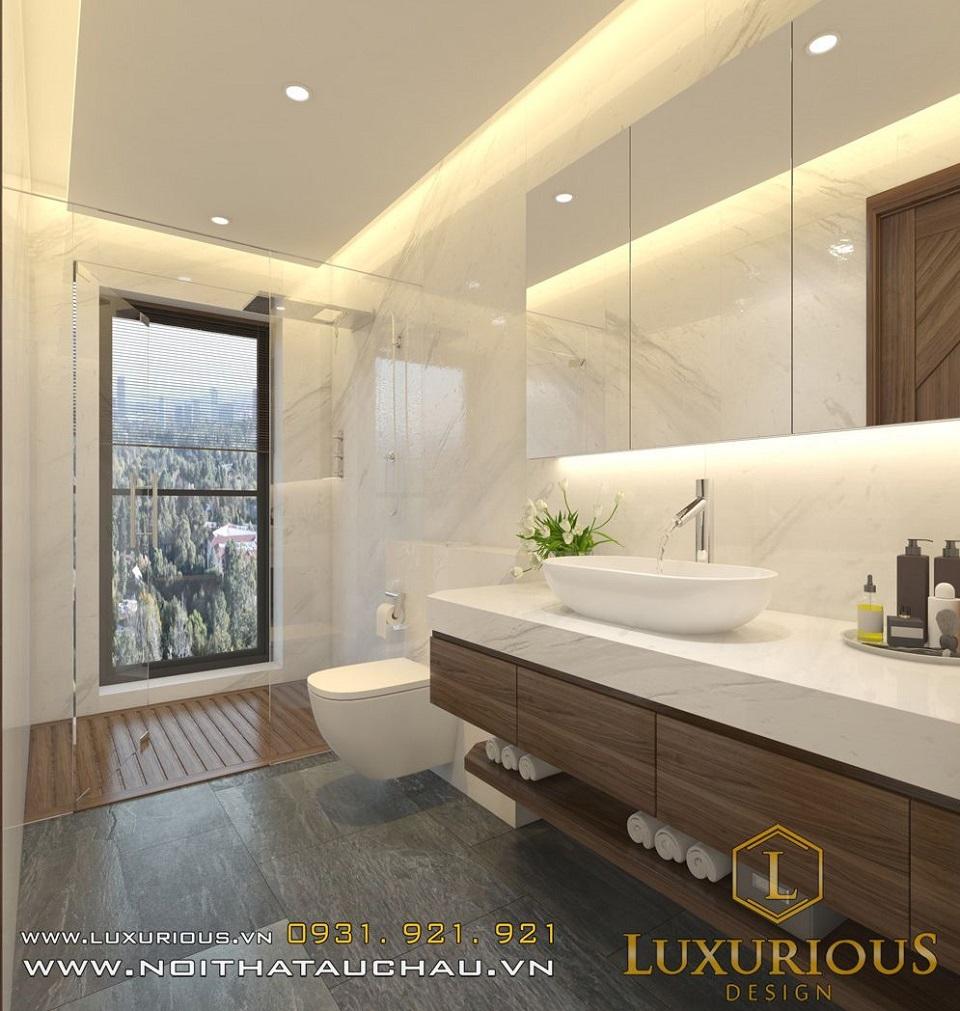 Thiết kế nội thất biệt thự Vinhomes The Harmony anh Hoàng