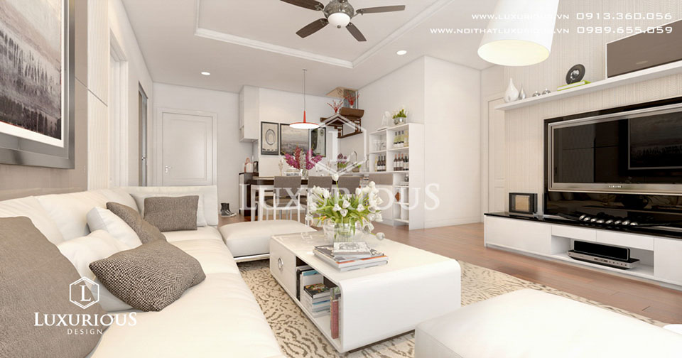 Thiết kế nội thất phong cách châu Âu chung cư Vinhomes Times City