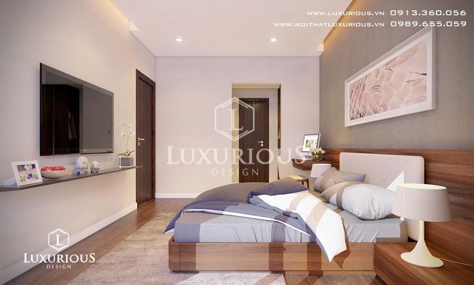 Thiết kế phòng ngủ cho bố mẹ
