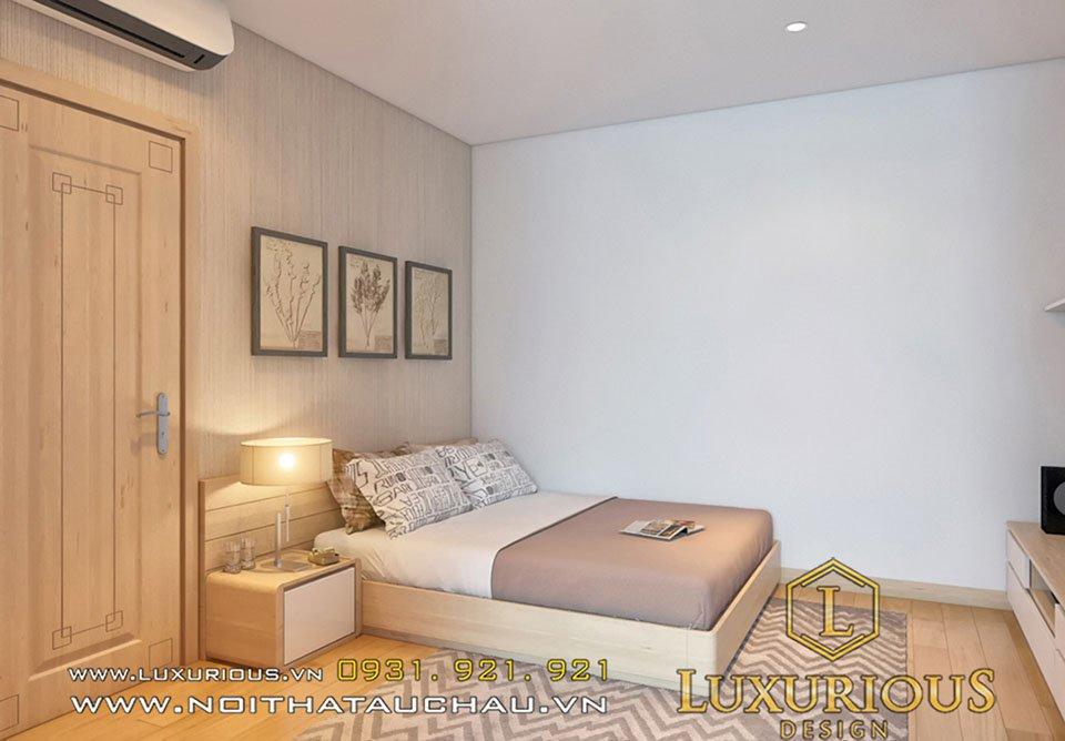 thiết kế phòng ngủ chung cư parkhill