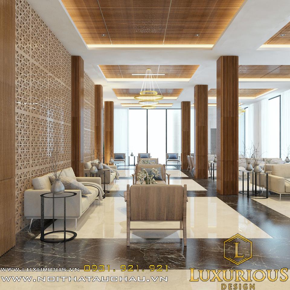 Thiết kế nội thất phòng khách sạn 5 sao