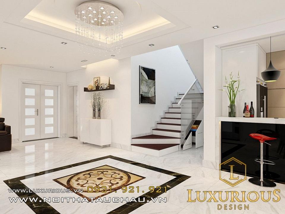 Thiết kế nội thất biệt thự vườn mai ecopark Anh Dinh 6