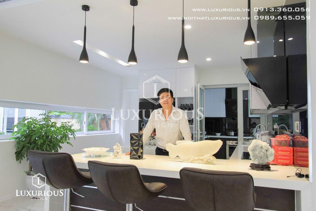 Nội thất không gian bếp ăn
