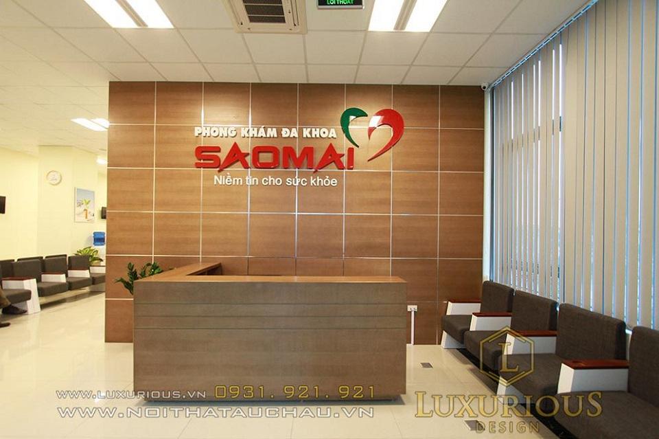 Mẫu thiết kế nội thất văn phòng bệnh viện