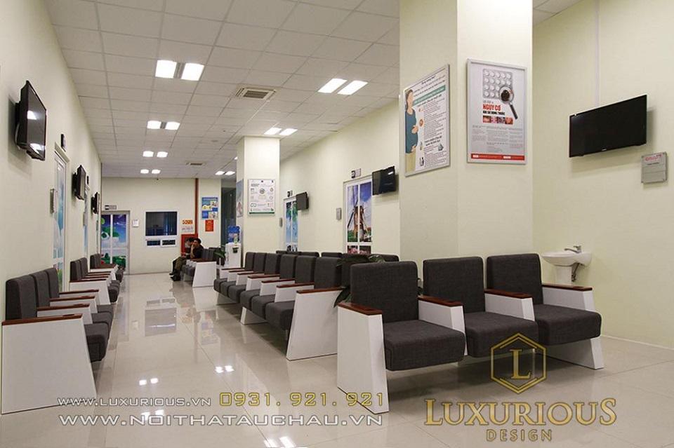 Bệnh viện sang trọng đẳng cấp với nội thất tiện nghi