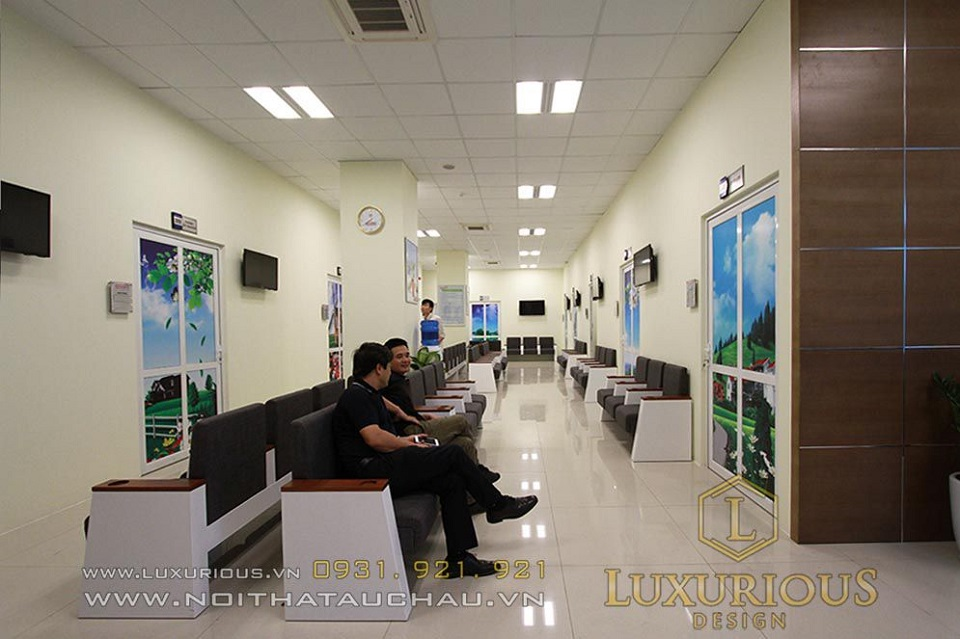 Thiết kế nội thất bệnh viện sao mai đẳng cấp