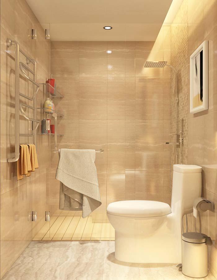 Mẫu phòng vệ sinh chung cư đẹp