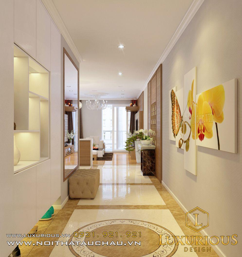 Thiết kế nội thất chung cư nhà chị Hà