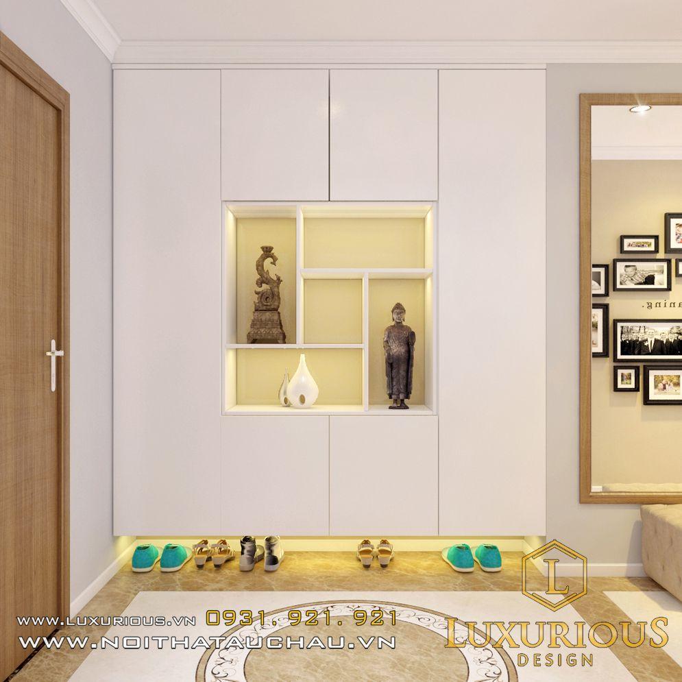Mẫu thiết kế nội thất chung cư Hà Đô - Chị Hà
