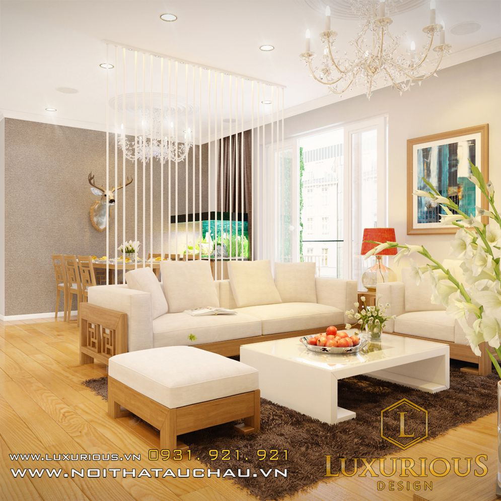 thiết kế thi công nội thất chung cư Hà Đô