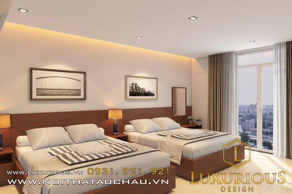 Thi công nội thất phong cách châu âu khách sạn Hacom Hotel