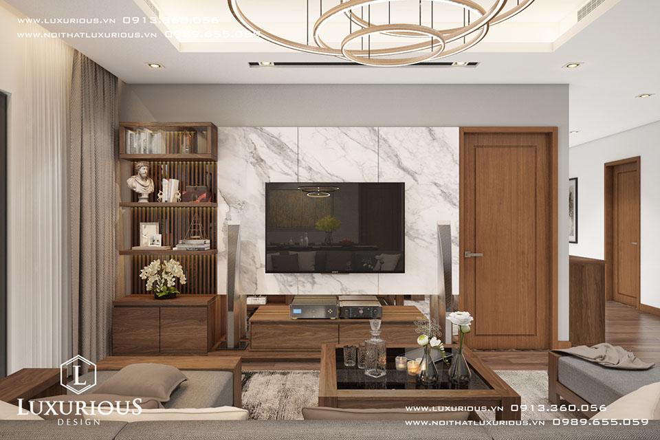 Thiết kế nội thất chung cư timecity