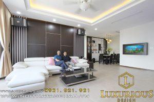 Thiết kế nội thất chung cư Thái Hà Chị Vân