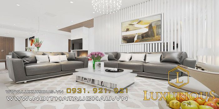 Thiết kế nội thất trăm triệu chung cư 70m2