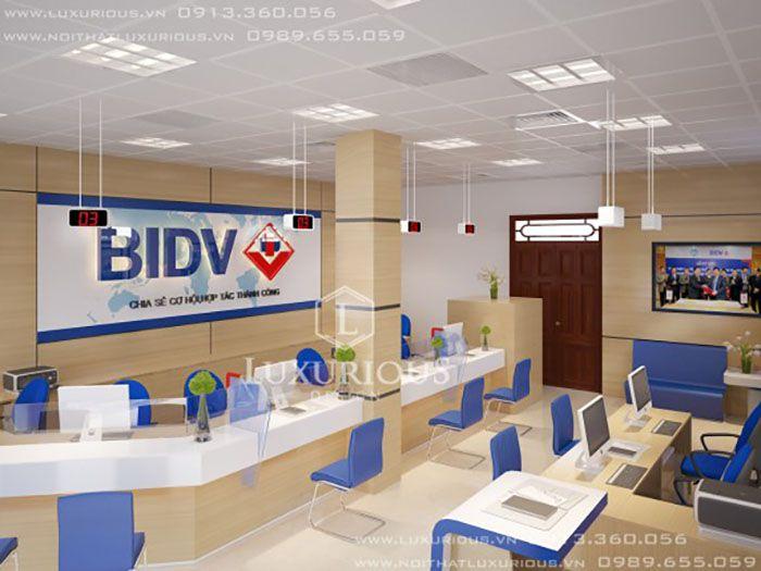 Thiết kế văn phòng BIDV