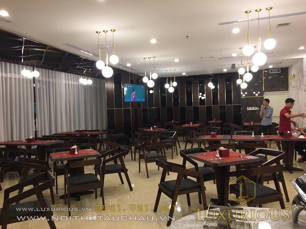 Mẫu nhà hàng trong khách sạn đẹp