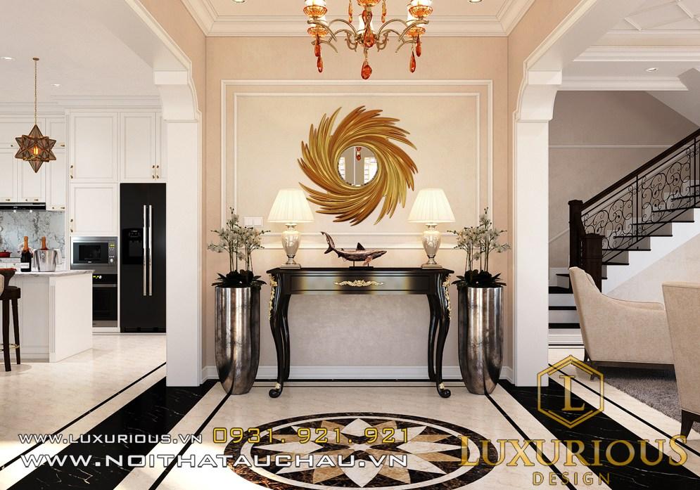 Mẫu thiết kế nội thất biệt thự Starlake tân cổ điển lộng lẫy