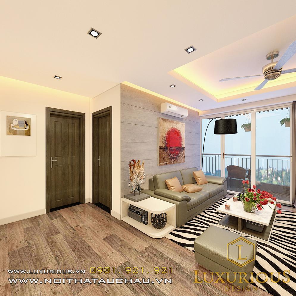 Mẫu thiết kế căn hộ chung cư Sky