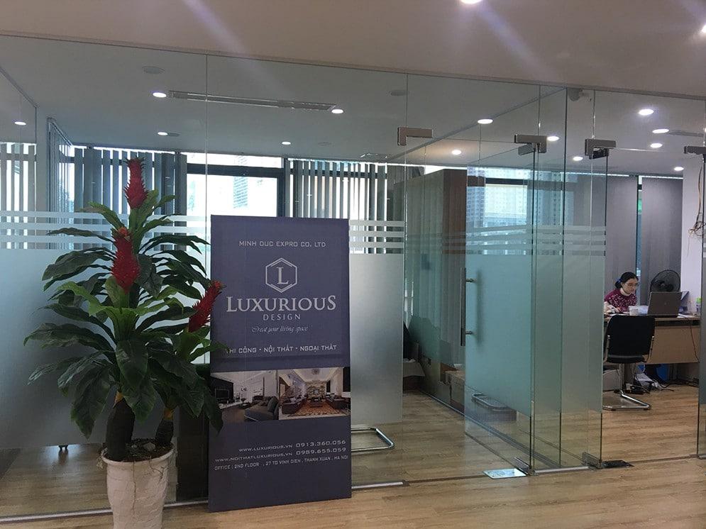 Văn phòng luxurious